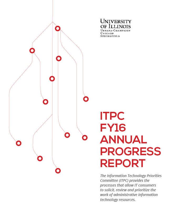ITPC Annual Progress Report FY16